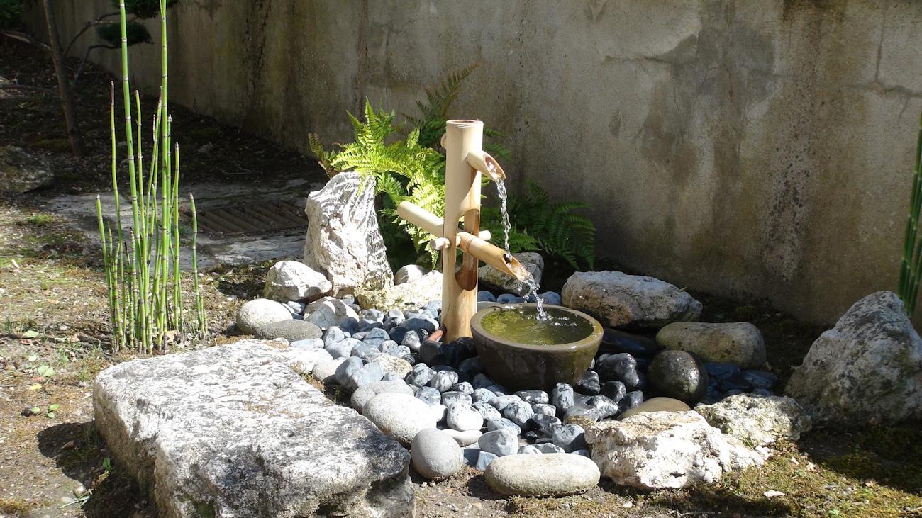 Articles pour étang, fontaine et bassin Fontaine Bambou ...